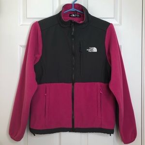 The North Face Denali Jacket Pink/Grey Size Small
